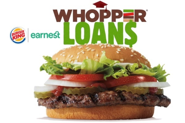 Bk.com Whopper Loans Sweepstakes