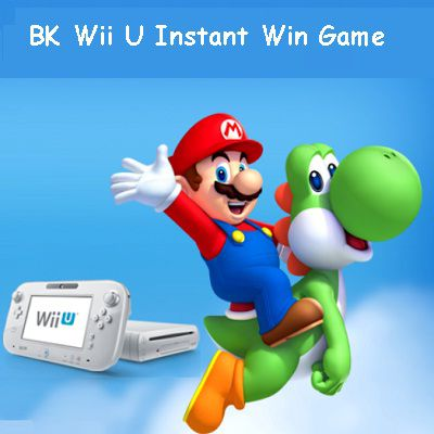 BK.com Wii U Instant Win Game