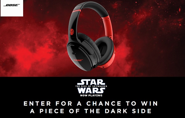 Bose Star Wars Dark Side Sweepstakes
