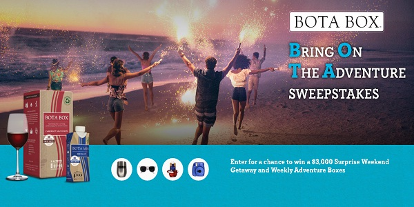 BotaBox.com Bring On The Adventure Summer Sweepstakes
