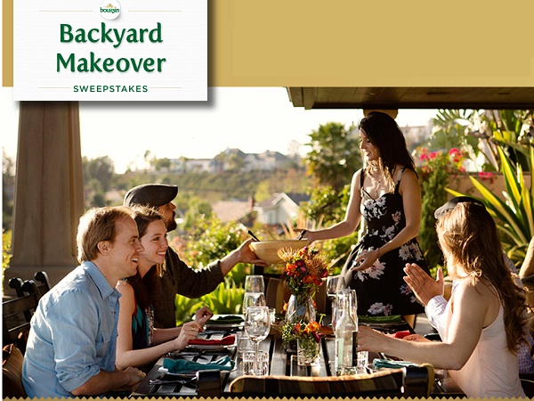 boursin backyard makeover instant win game and sweepstakes