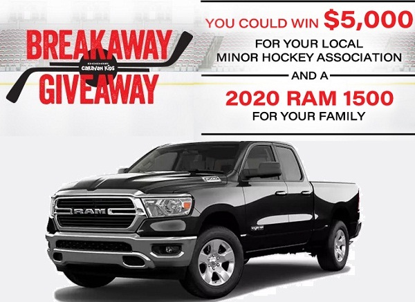 The FCA Canada Breakaway Giveaway Contest 2019