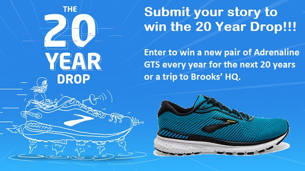 Brooks 20 Year Drop Contest