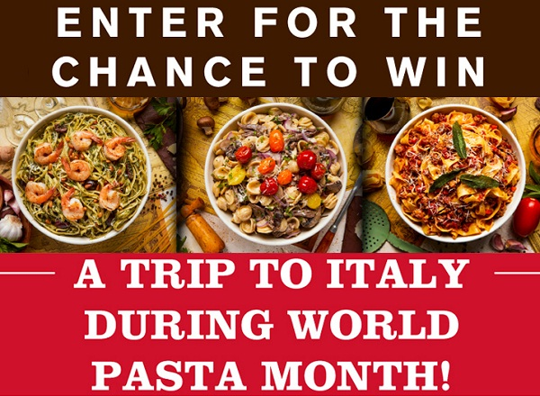 Barilla - Buca di Beppo National Pasta Month Sweepstakes