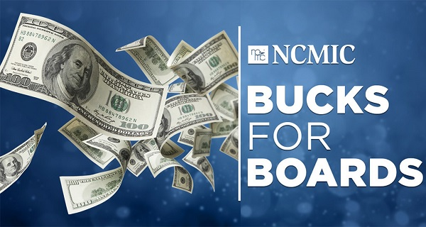 Bucks for Boards Sweepstakes: Win $500 Cash!