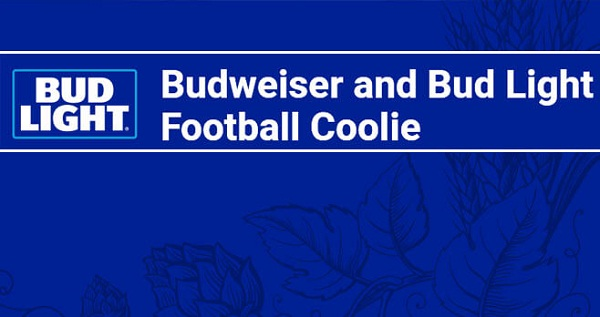 Budweiser and Bud Light Football Coolie Sweepstakes: Win
