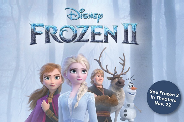 Disney Frozen 2 Sweepstakes Win A Trip To Movie Premiere