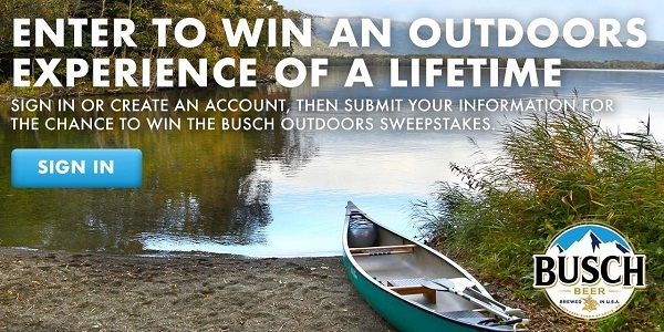 Busch com Outdoors Sweepstakes | SweepstakesBible