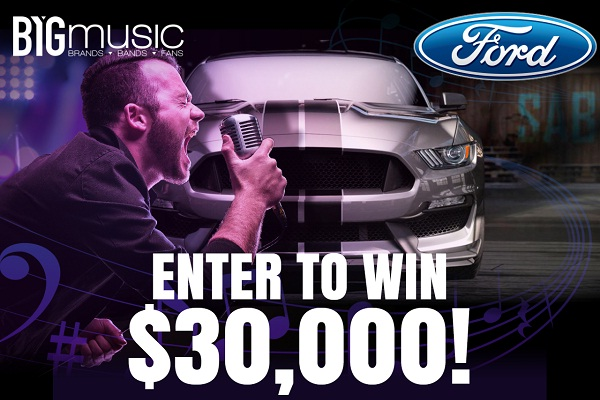 BYG Ford Sweepstakes : Win $30000 Cash for Car