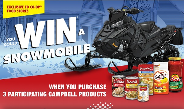The Campbell's Snowmobile Contest