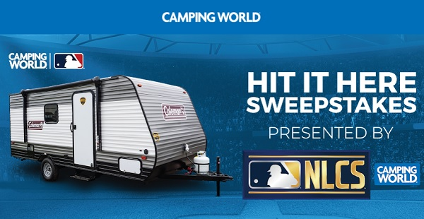 Camping World RV Sweepstakes 2020