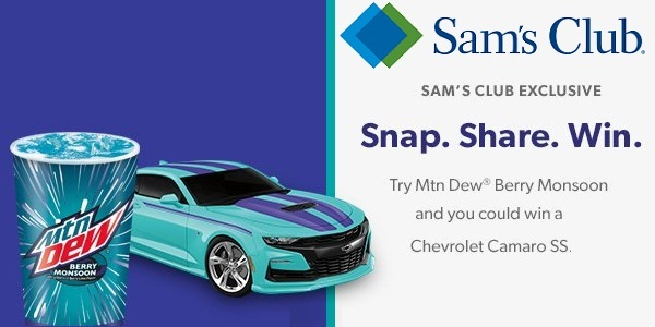 Chevrolet Camaro Sweepstakes 2019