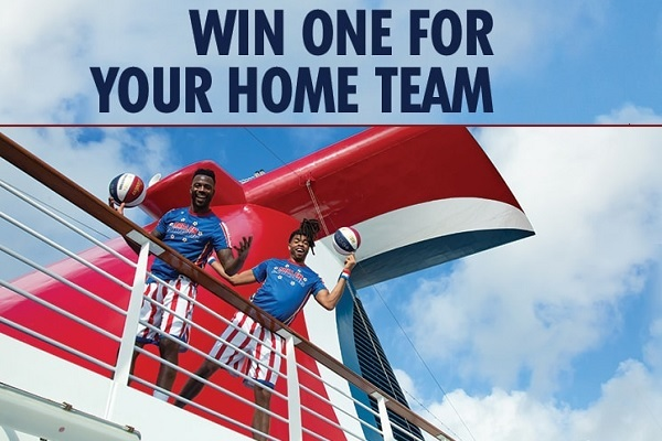 Carnival Cruise Globetrotters Sweepstakes 2020