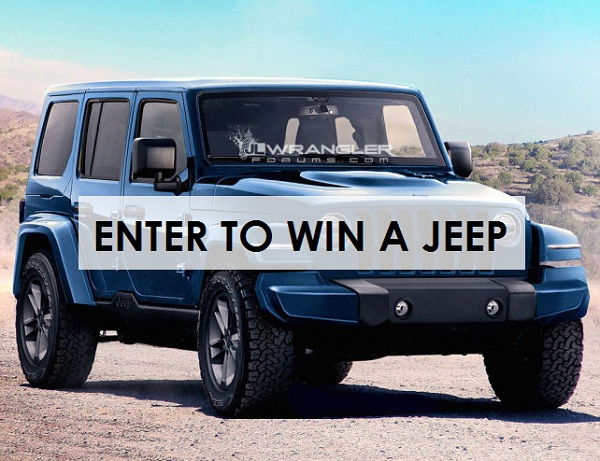 Nice The Jeep Wrangler Is A Solid And Mid Size Four Wheel Drive Off Road  Vehicle. Now, It Could Be Yours For Freeu2026.Itu0027s Not Joke But 100% True. Now,  You Can Win ...