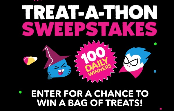 Cartoon Network Halloween Sweepstakes (100 Daily Winners)