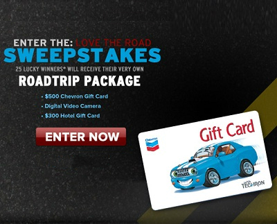 CBS Love The Road Sweepstakes
