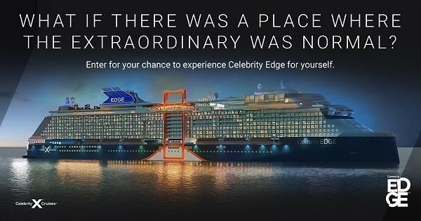 Celebritycruises.com Celebrity Edge Sweepstakes