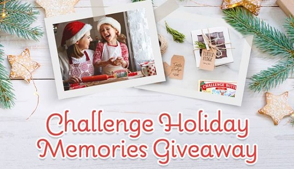 Challenge Holiday Memories Giveaway: Win Visa Gift Card