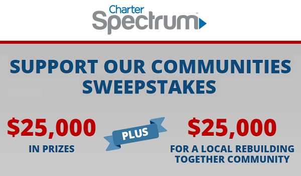 "Charter Communications ""2016 Best in Class"" Sweepstakes"