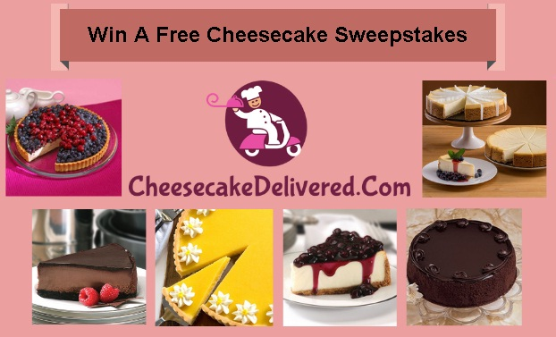CheesecakeDelivered.Com Win a Free Cheesecake Sweepstakes