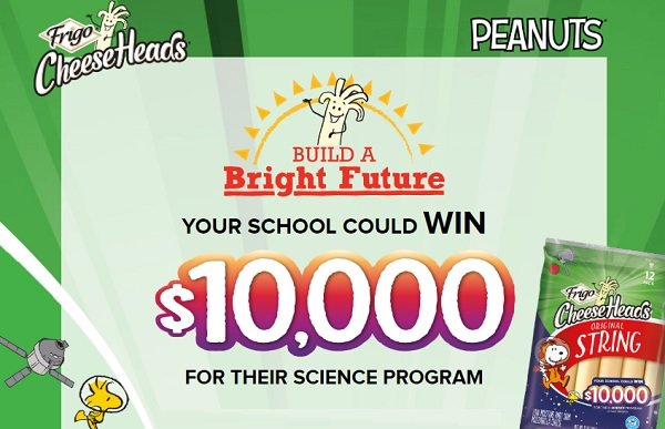 Frigo Cheese Heads Build A Bright Future Contest