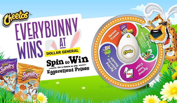 Cheetos Everybunny Wins Instant Win Game: Spin to Win
