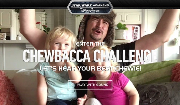 The Disney Parks Chewbacca Challenge Contest