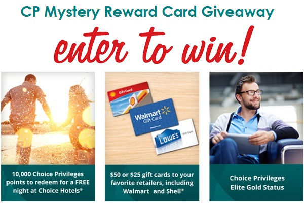 CP Mystery Reward Card Giveaway & Instant Win Game | SweepstakesBible