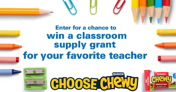 Win Free School Supplies from Quaker!