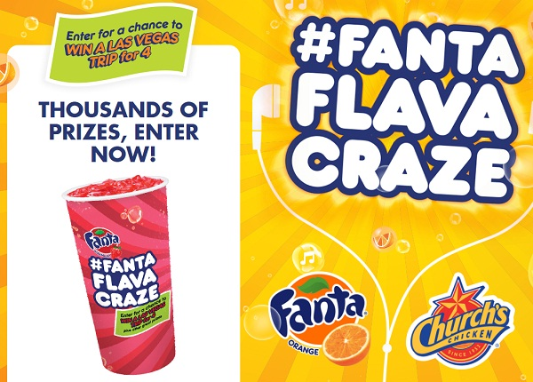 Church's and Fanta's #FantaFlavaCraze - Poppin' It for Prizes Giveaway