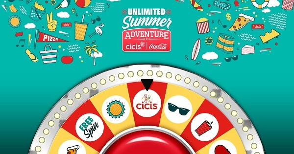 Cicis Summer Vacation Sweepstakes