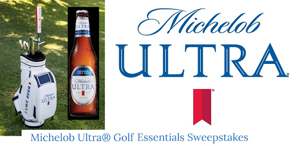 Michelob Ultra Golf Essentials Sweepstakes   SweepstakesBible