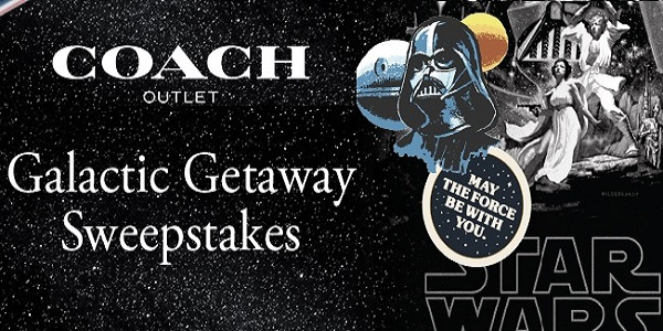 The Coach Outlet Galactic Getaway Sweepstakes