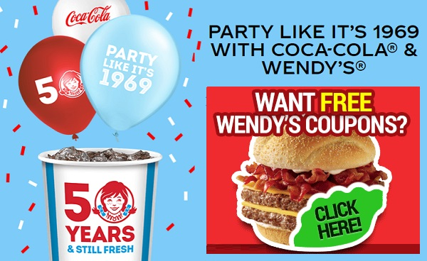 Wendy's 50th Birthday Instant Win Game