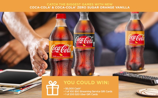 Coca Cola and Compass 2019 Instant Win Giveaway