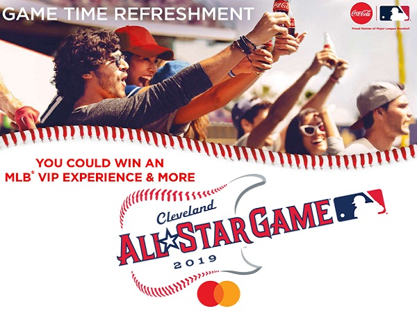 Coke.com MLB 2019 Instant Win and Sweepstakes