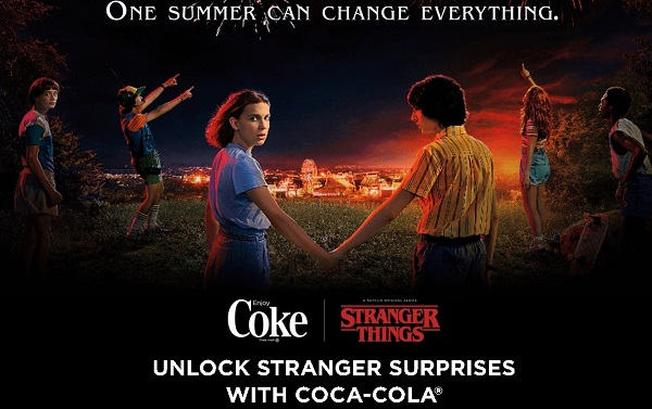 Coca Cola Stranger Things Instant Win Game