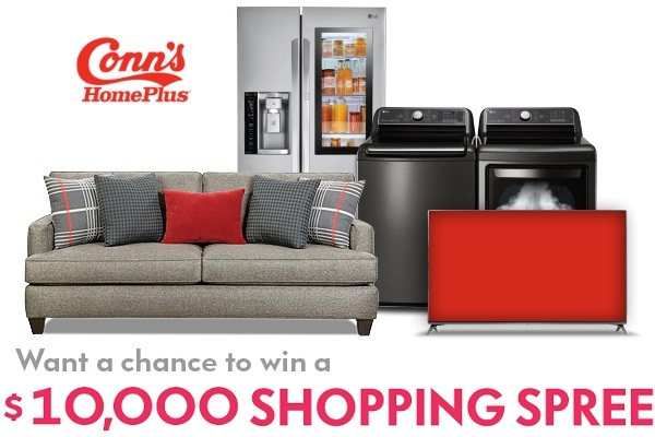 Conns Com 10 000 Shopping Spree Sweepstakes Sweepstakesbible