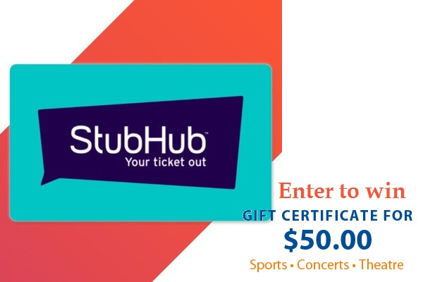 Coors light StubHub Gift Card Giveaway