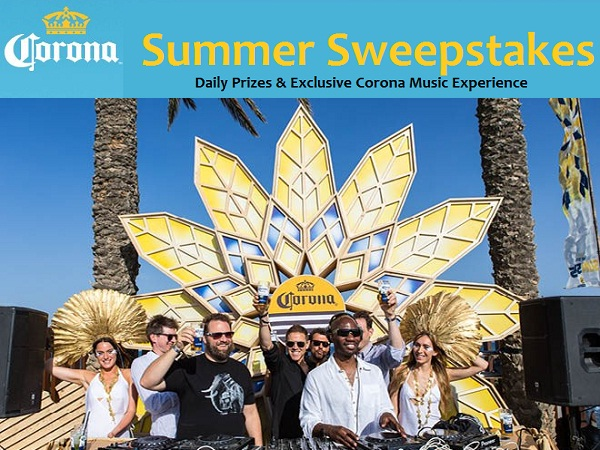 Corona Summer Live It Share It Win It Sweepstakes