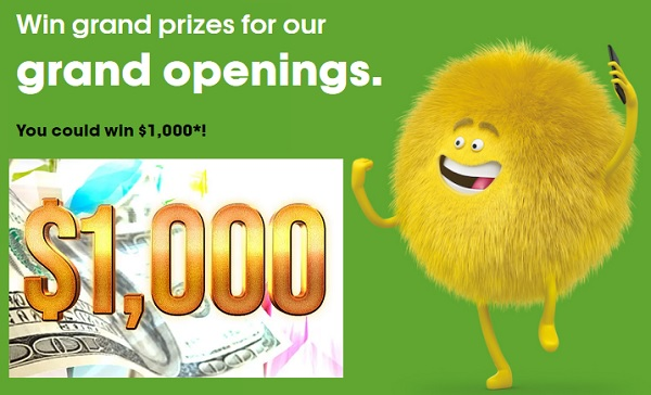 Cricket Wireless October Grand Opening Sweepstakes