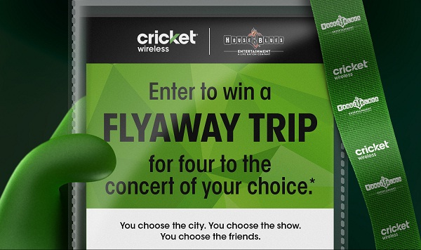 Cricketwirelessperks.com Consumer Choice Flyaway Sweepstakes