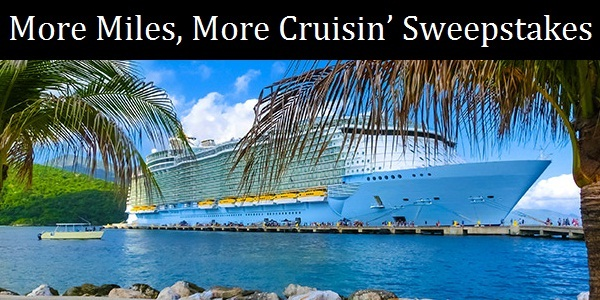 Spirit Airlines More Miles More Cruisin Giveaway