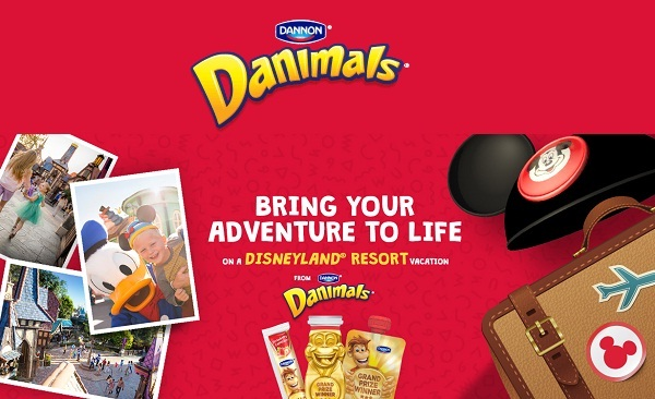 Disney Danimals.com Golden Bongo Back To School Sweepstakes