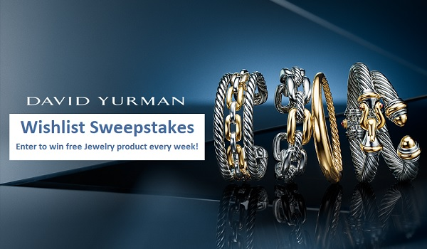 David Yurman's Wishlist Sweepstakes