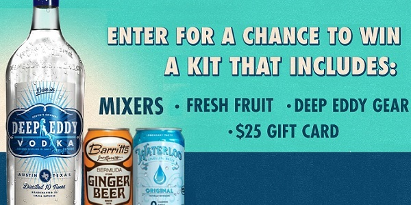 Deep Eddy Vodka At Home Cocktail Kit Sweepstakes