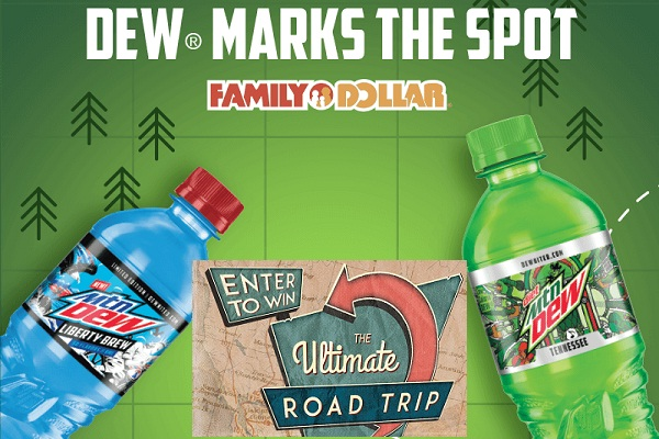 DEW Marks The Spot Sweepstakes and Instant Win Game | SweepstakesBible