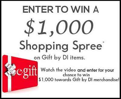 Win Gift Shopping Spree with Diamonds International