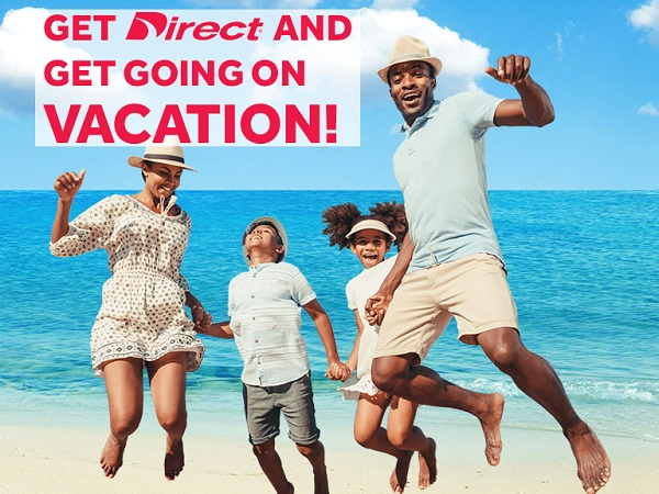 Direct Auto $10k Dream Vacation Sweepstakes