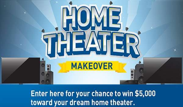 Win $5000 for Home Theater Makeover